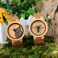 Bamboo Wood Watch Men
