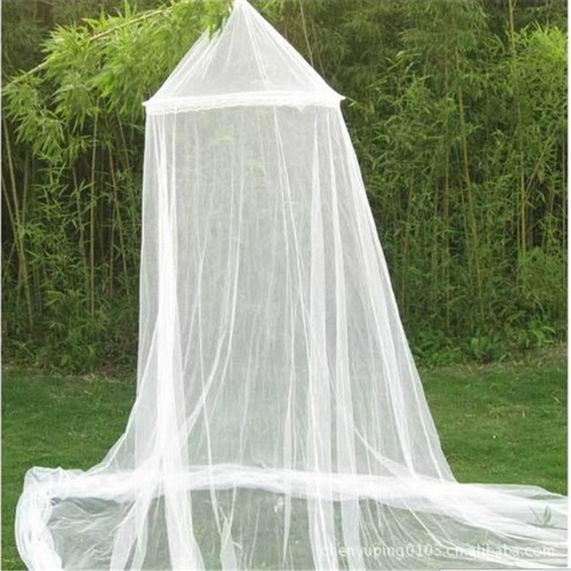 Elegant Lace Insect Bed Canopy Curtain Round Dome Round Lace Curtain Dome Princess Bed Home Canopy Netting