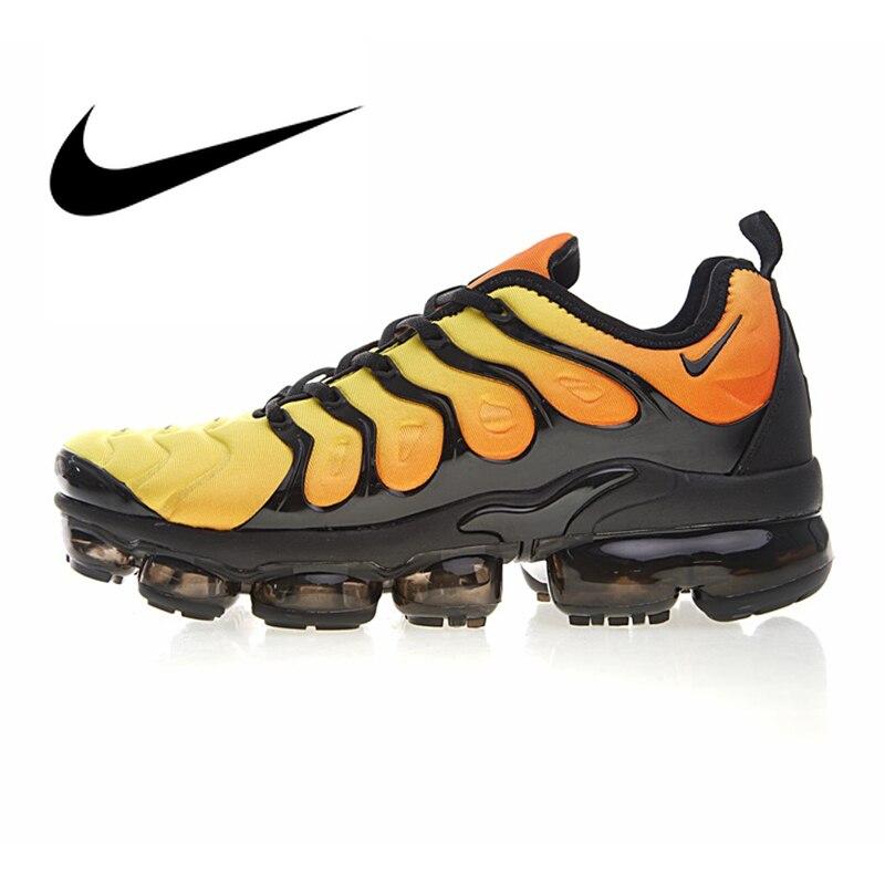 Chaussures de course Nike Air Vapormax Plus TM authentiques pour hommes, chaussures de Sport en plein Air, chaussures de Designer athlétique 924453-051
