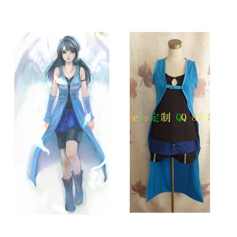 2016 final fantasy viii rinoa heartilly dress game cosplay costume
