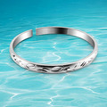 2014 brand new solid genuine 925 sterling lady's bangle