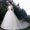 Don's Bridal Cheap Bride Dress 2016 Sweetheart Neckline Beaded Organza And Tulle Ball Gown Wedding Dresses