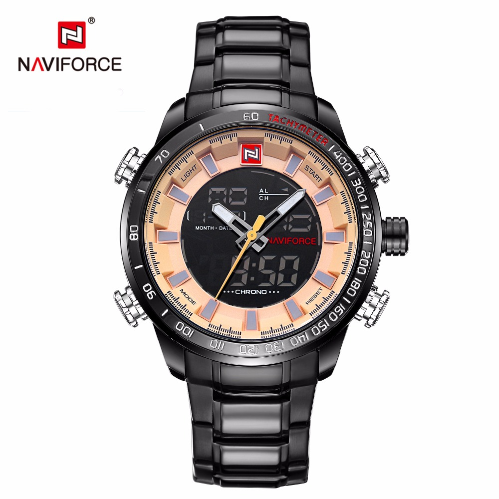 Reloj Hombre 2016 NAVIFORCE Fashion Chronograph Sport Men Watches Top Brand Luxury Military Quartz Watch Clock Relogio Masculino