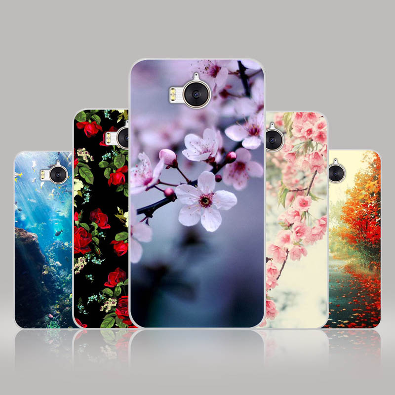 FANATU Huawei Y5 2017 Case Soft TPU FOR Coque Huawei Y6 2017 Case Silicone Back Printed Huawei Y5 2017 Y6 2017 Cover Fundas 5.0""