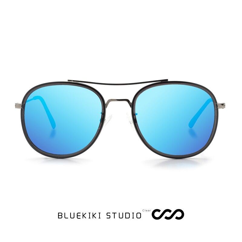 8ceb86c359 KIKI Men Women Polarized Sunglasses Brand Design Round Metal Glasses UV400  Driving Gafas De Sol Masculino With Box 2018 New-in Sunglasses from Apparel  ...