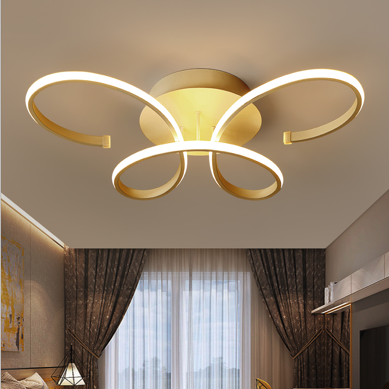 Modern Simple Acrylic Ceiling chandelier Led Lustre Lamparas luminaria Restaurant Chandeliers Living room bedroom lights