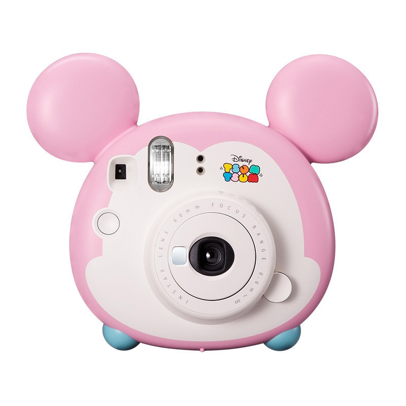 Fujifilm Instax Pink Style Mini Instant Film Camera for Polaroid Instant