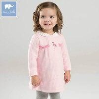 DB7051 Dave Bella Spring Infant Baby Girls Fashion Dress Kids Floral Dress Children Party Birthday Clothes