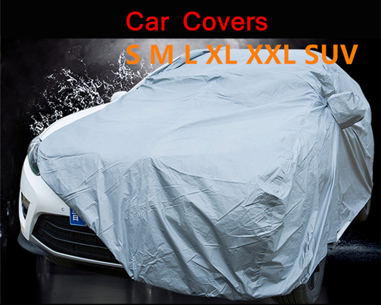 Car-Covers Outdoor Protection Rain-Resistant Size Snow-Dust Sun-Uv XL/XXL