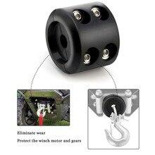 ウインチケーブルフックストッパー用の六角レンチと ATV UTV ウインチ、防水 & 簡単に使用耐久性のあるゴムウインチロープラインセーバー