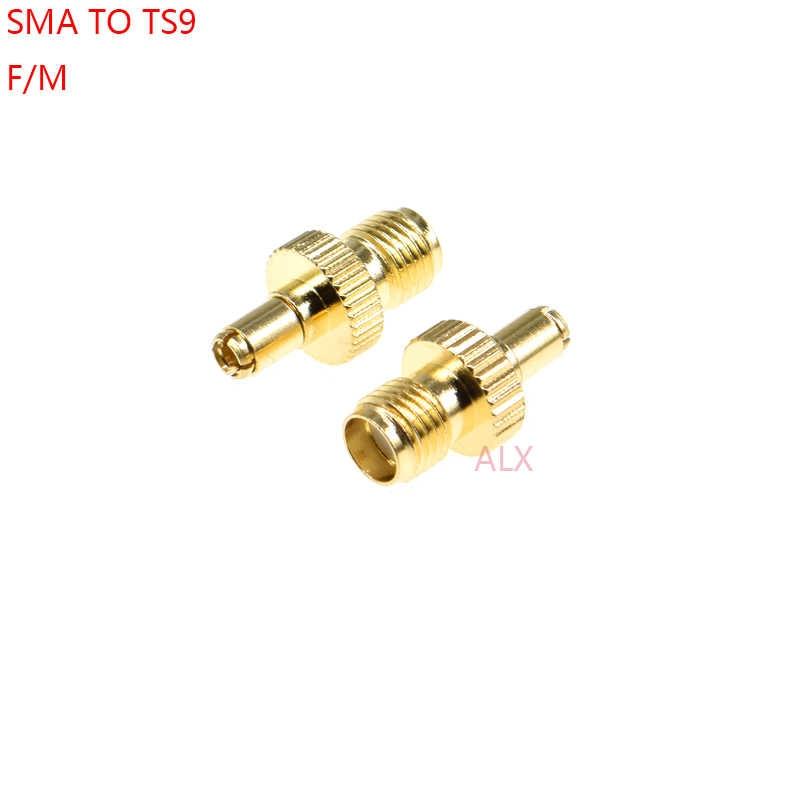 1 PCS SMA נקבה כדי TS9 זכר מתאם SMA שקע כדי TS9 תקע ממיר/RF מחבר אנטנת כבל מתאם sma ל ts9