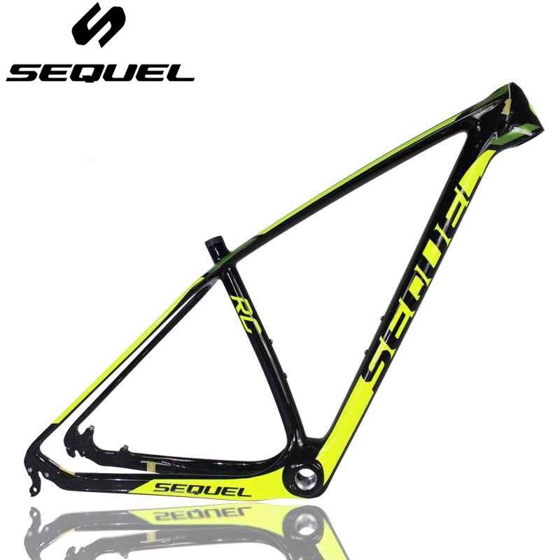 Frame Carbon 29er Carbon Fiber T1000 Carbon Mountain Bike Frame Conical Head Tube 1 1/8 To 1 1/2 Carbon MTB Bicycle Frame 29er