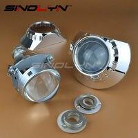 Full Metal 3 0 Inches H1 HID Bixenon Lens Projector Headlight Headlamp Retrofit For ZKW E46