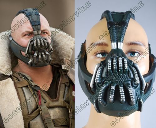 Batman Dark Dark Knight tõuseb Bane Halloweeni kostüümi mask