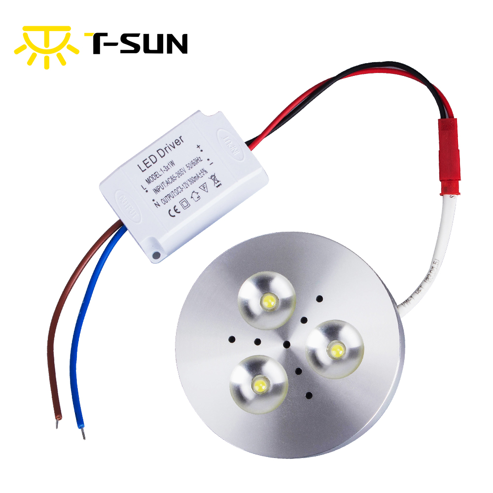 T SUNRISE 3W LED Kitchen Cabinet Light Indoor Lighting Spotlight LED ...