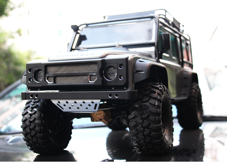 aluminum front custom grille bumper Winch pedestal guard board for rc car 1/10 Traxxas TRX4 Land Rover Defender rowenta sf7510f0 выпрямитель для волос