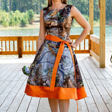 knee length realtree camo bridesmaid dress camouflage gowns