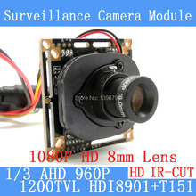 1 3MP 1280 960 1200TVL AHD 960P mini night vision 1 3 HDI8901 T151 Camera Module
