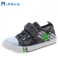 M MNUN 2016 Canvas Children Shoes Breathable Boys Sneakers Brand Kids Shoes Casual Child Flat Shoes