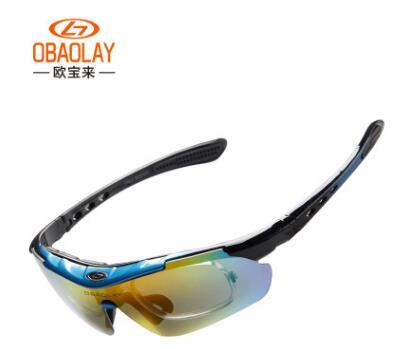 adc6f2dde4 Obaolay Polarized Cycling Giant goggles Glasses Sunglasses men UV400 MTB  switch Bike cycling goggles Bikes goggles 1 lens