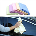 Multi-function Car Natural Drying Chamois Wash Towel Synthetic Deerskin Fast Water Absorption Vehicle Cleaning Cloth cleaner