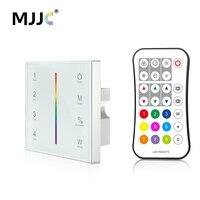 MJJC DMX Controller 512 4CH Zone RGBW DMX512 Master Control Wireless 2 4G RF Remote Wall