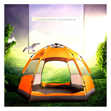 5-7 Persons Tent Large Automatic Pop Up Tent Waterproof for Outdoor Camping Tent Hiking fishing survival equipment automatic camping tent 2 persons beach tent uv protection shelter outdoor tent instant pop up summer tent fishing hiking