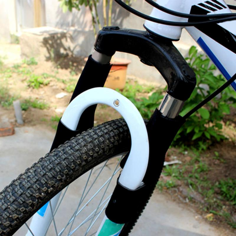 1Pair Cycling MTB Bike Bicycle Front Fork Protector Pad Wrap Cover Set