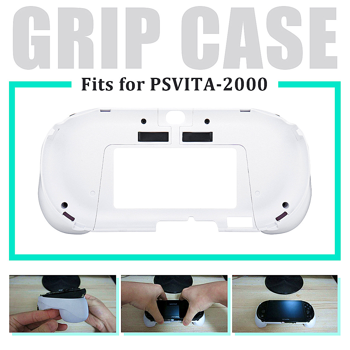 L2 R2 Trigger Game Console Host Grip Holder Handle Bracket Case For PS VITA 2000
