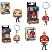 FUNKO POP Marvel Movie Avengers 4: Endgame CAPTAIN MARVEL Vinyl Action Figure Collection Model toys for Children Birthday Gift(China)