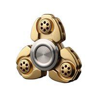 Alloy EDC Tri Spinner Fidgets Anti Stress Sensory Finger Hand Spinner Reduce Pressuse Toys Z446