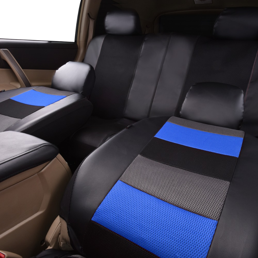 Image 3 - Artificial Leather Car Seat Covers 6 Color Universal Automotive Car Seat Interior Accessories 40/60 50/50 60/40 For 99% Cars-in Automobiles Seat Covers from Automobiles & Motorcycles