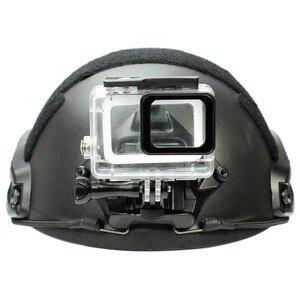 Image 5 - Mới Mũ Bảo Hiểm Alu Mi Num Sửa Ốp Cho Camera Thể Thao Nền Giá Đỡ Competible Với GoPro Hero 1 2 3 3 + 4 5 Phiên Tiểu Mi Yi SJ
