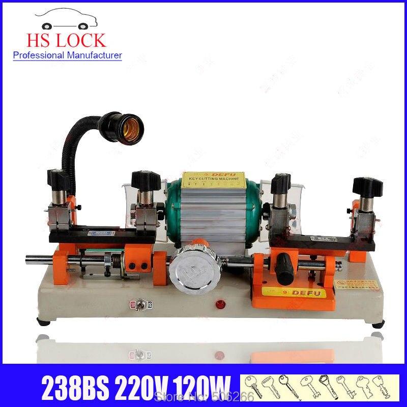 original defu 238BS key cutting machine 220v 120w auto key duplication machine made in China fast ship цена