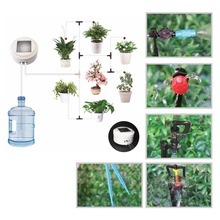 Solar energy Intelligent garden automatic watering device Succulents plant Drip irrigation tool water pump timer system