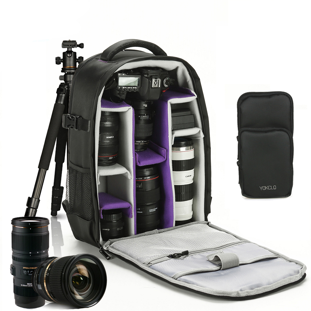 Camera/video Bags Romantic Outdoor Wear-resisting Dslr Digital Camera Video Backpack Water-resistant Multi-functional Breathable Photograph Camera Bag Accessories & Parts