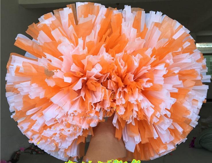 Kostenloser Versand Spiel Pompons Günstige praktische Cheerleading - Mannschaftssportarten - Foto 2