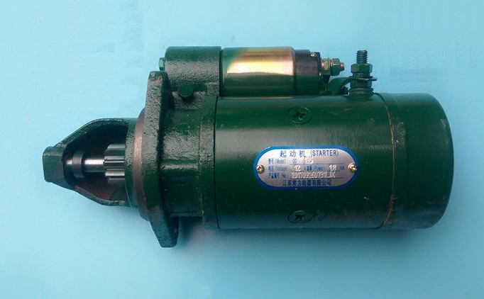 Fast Shipping starting motor QD135 12V 9 Teeth diesel engine 492Q BJ212 starter motor suit Changchai ChangfaFast Shipping starting motor QD135 12V 9 Teeth diesel engine 492Q BJ212 starter motor suit Changchai Changfa