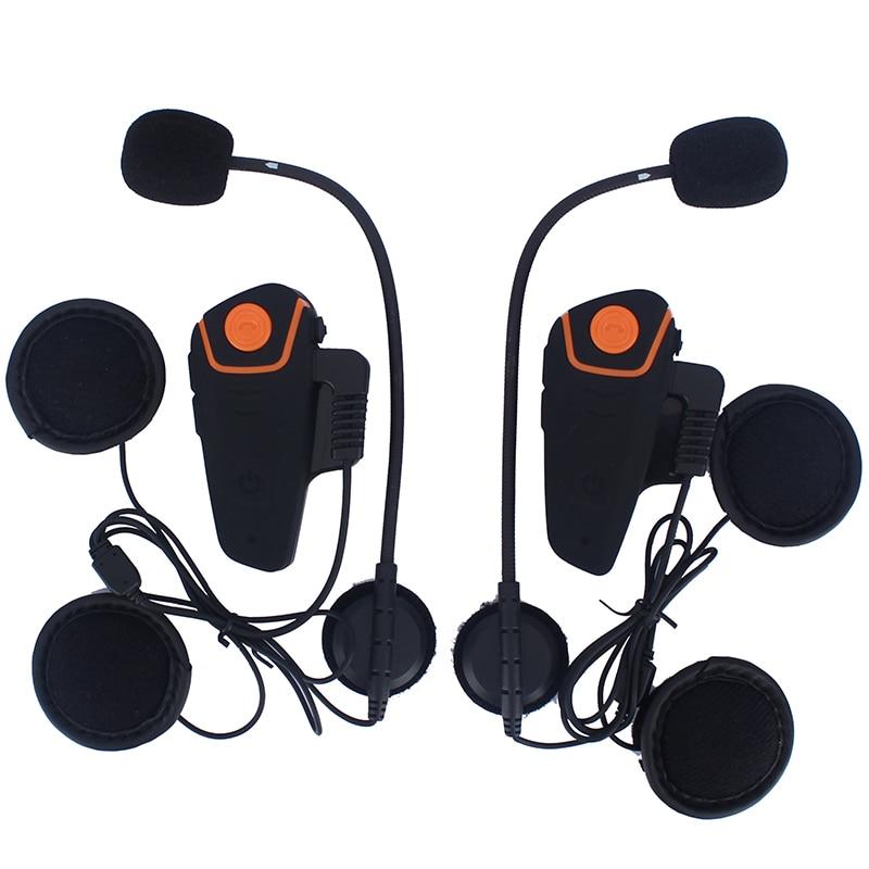 Abuzhen 2 pcs BT-S2 Waterproof 100% Motorcycle Moto Wireless Bluetooth Helmet Intercom Interphone Headset with FM function 2 pcs bt s2 waterproof 100% motorcycle moto wireless bluetooth helmet intercom interphone headset with fm function