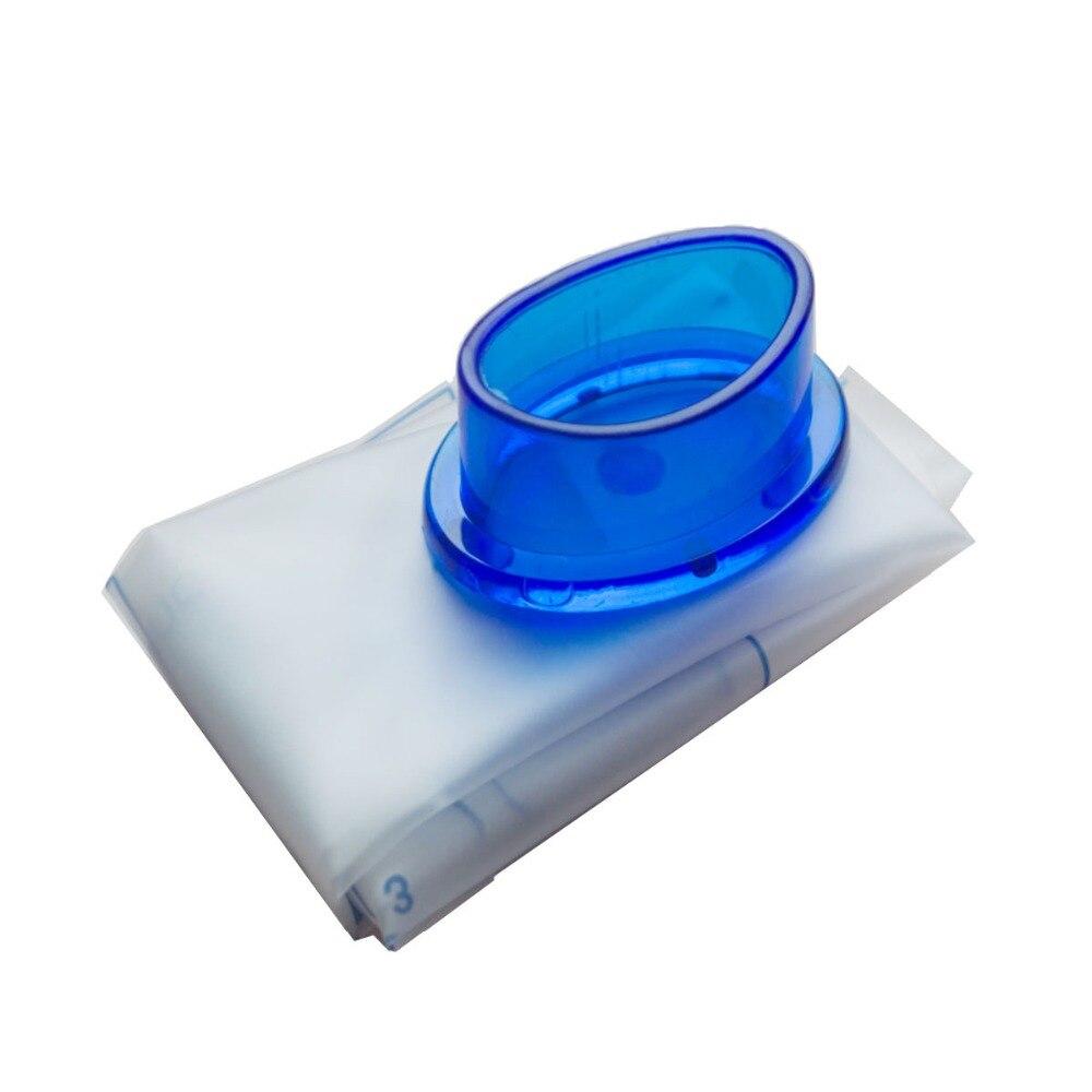 도매 100 개/몫 응급 처치 심폐 소생술 resuscitator 입 마스크 위생 응급 구조 얼굴 방패 생존을위한 블루 밸브-에서마스크부터 미용 & 건강 의  그룹 1