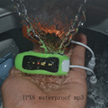 16GB Swimming Diving Waterproof MP3 Player Underwater Sport MP3 Music Players Mini Clip * FM Radio Headphones free shipping