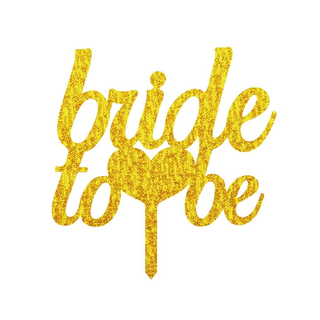 Акрил To be Bride знак свадебный торт Топпер для Engagment Свадебная вечеринка украшения