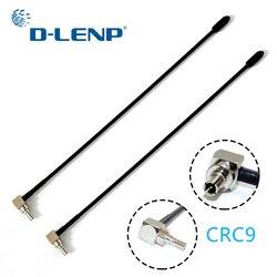 Dlenp новая 5dbi антенна 2шт 4G Lte Антенна С Crc9 Conenctor для huawei E398 E5372 E589 E392 Zte MF61 MF62 aircard 753s