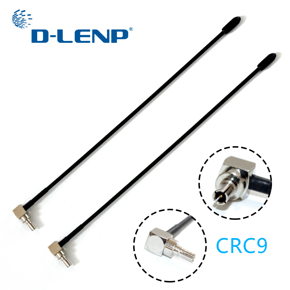 Dlenp New 5dbi Antenna 2pcs 4G Lte Antenna With Crc9 Conenctor For Huawei E398 E5372 E589 E392 Zte MF61 MF62 Aircard 753s