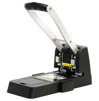 DELI heavy duty punchers two hole loose leaf hole punch office puncher file paper hole punch 150 sheets punch manual punchers