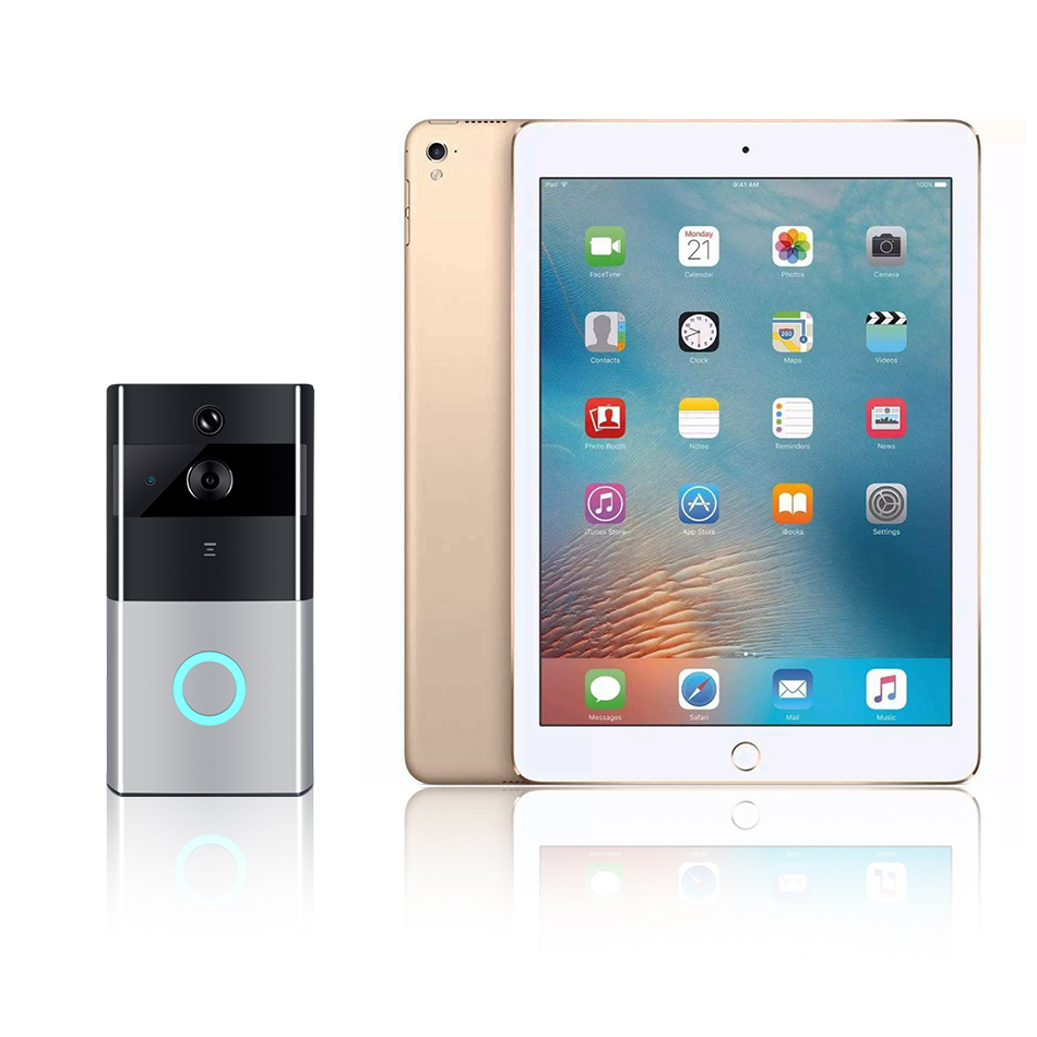 Video Intercom Door Camera WIFI Doorbell Camera Looline Outdoor Battery PIR Night Vision IP65 Waterproof Video Door Phone