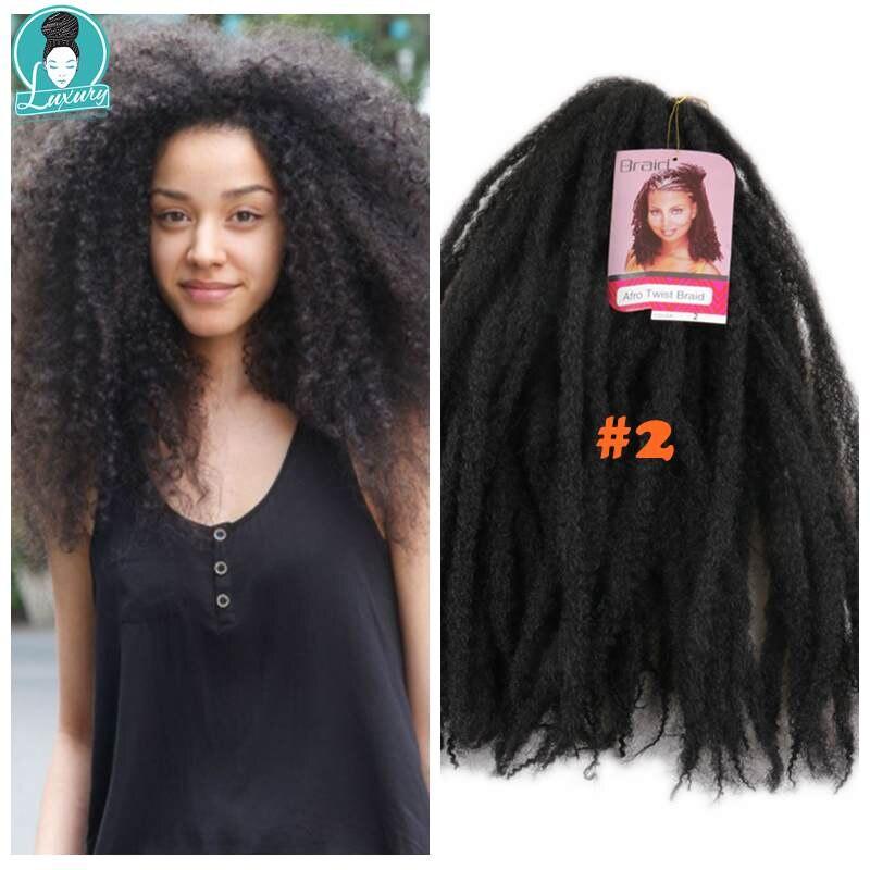 afro kinky curly marley braids20