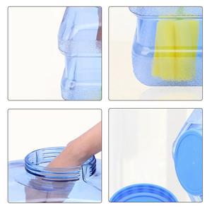 Image 5 - 5L Auto secchio PC BPA Free Riutilizzabile Bottiglia di Acqua di Plastica della Bottiglia di Acqua Gallone di Ricambio Snap On Cap Anti Splash brocca Contenitore