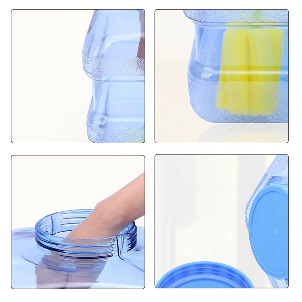 Image 5 - 5L Car bucket PC BPA Free Reusable Plastic Water Bottle Gallon Replacement Water Bottle Snap On Cap Anti Splash Jug Container-in Car Bucket from Automobiles & Motorcycles