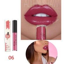 Купить с кэшбэком 2018 New Lipsticks For Women Sexy Brand Lips Color Cosmetics Waterproof Long Lasting  Nude Lipstick Matte Makeup batom makyaj